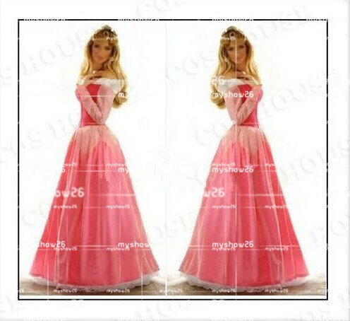 ハロウィン ディズニー眠れる森の美女 Sleeping Beauty Aurora オーロラ プリンセス 姫様 コスプレ衣装 仮装 コスチューム ディズニーグッズの画像