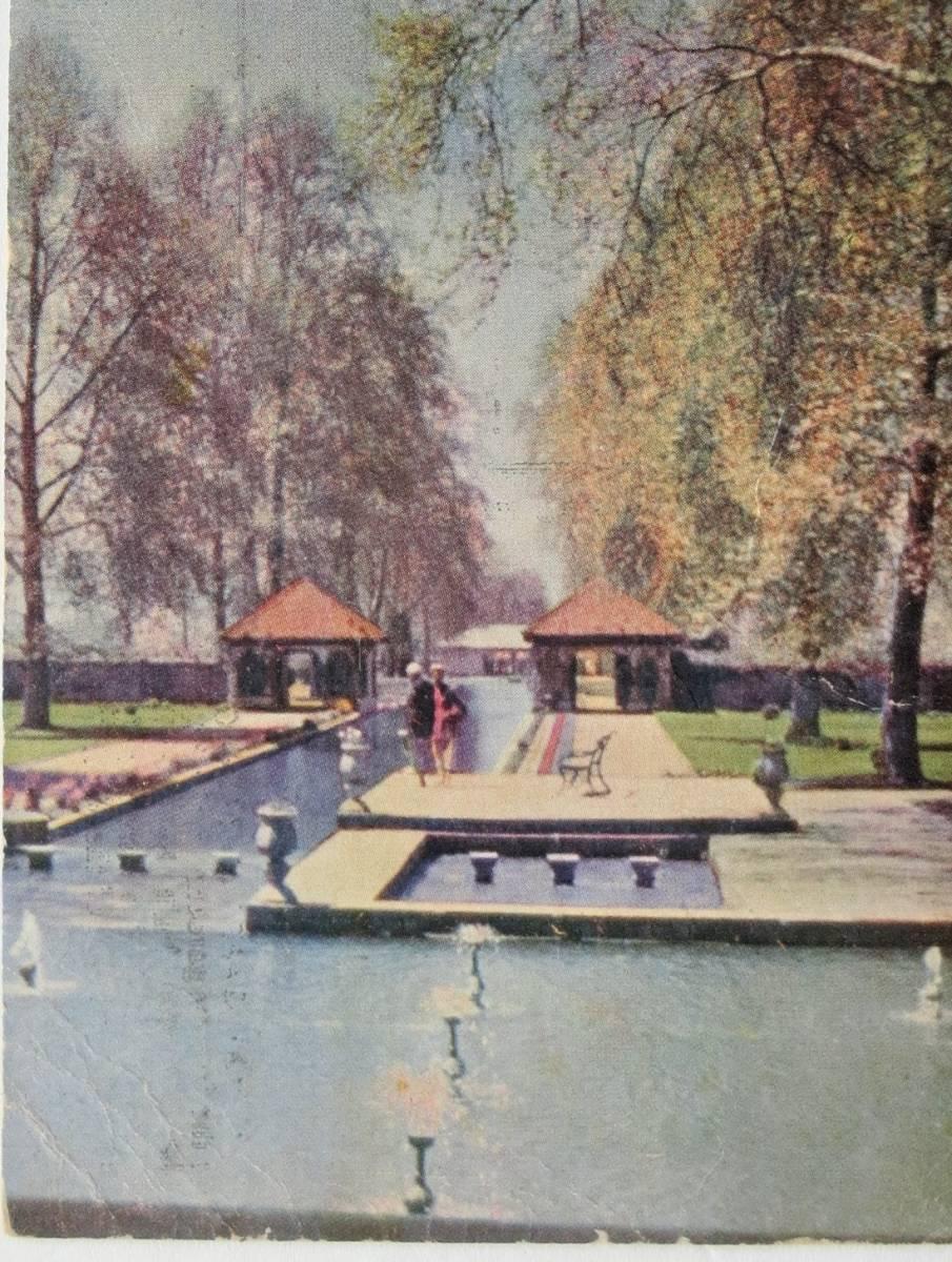 シャリマー庭園 ユネスコ世界遺産 パキスタン 1965_現状有姿(asis)でお願い致します。