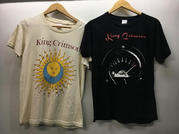 ■ キングクリムゾン King Crimson 2015 ツアー Tシャツ セット 中古品 Sサイズ