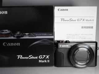 極美品 Canon Power Shot G7X markⅡキャノン パワーショット