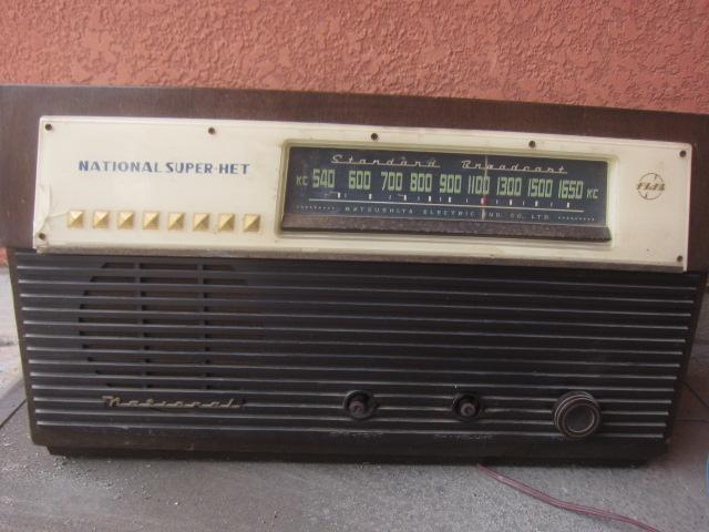 真空管 ラジオ 松下 BX-130型 ジャンク