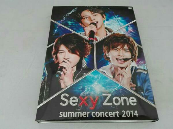 Sexy Zone summer concert 2014(初回限定版) DVD