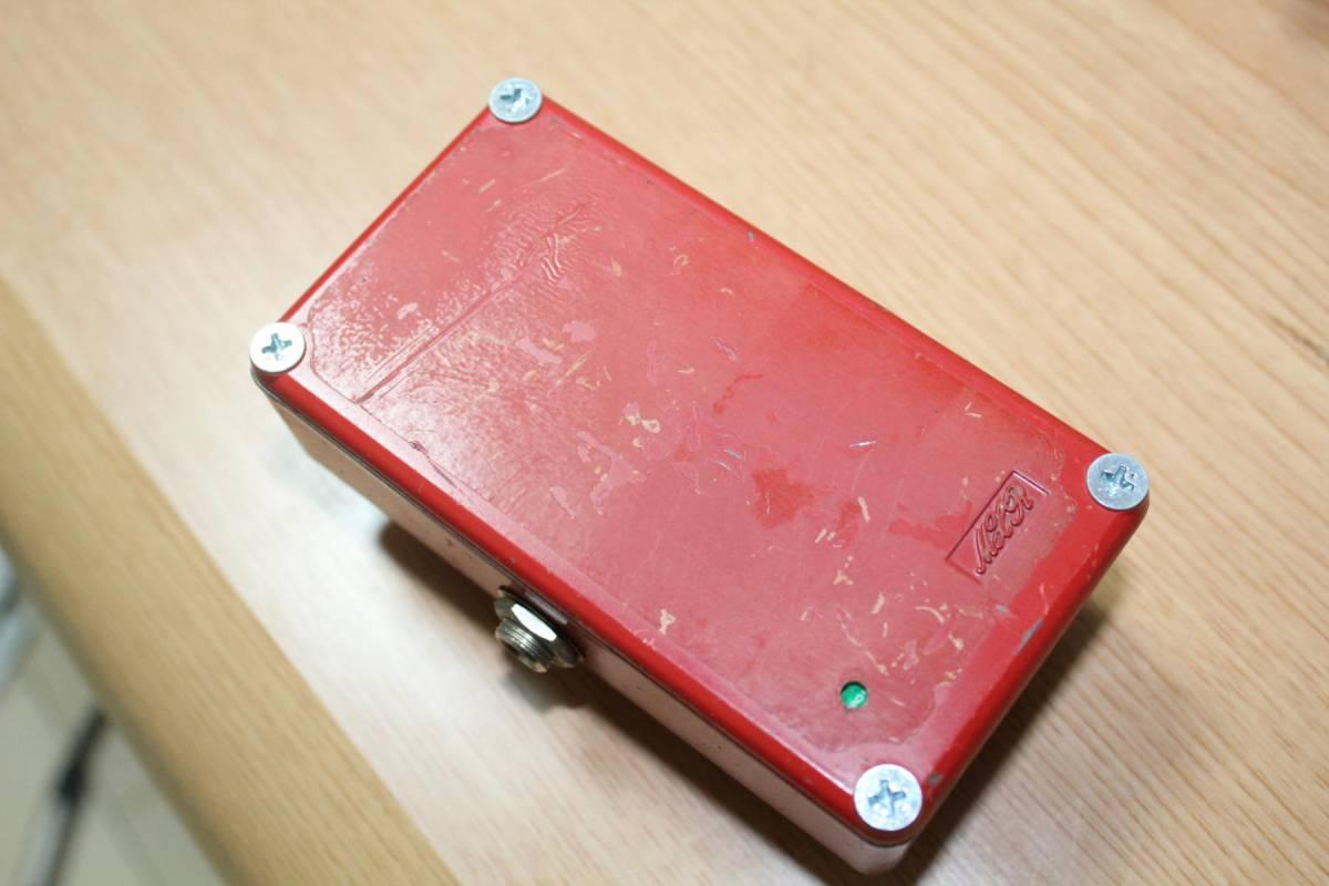 『値下げ』[中古]MXR dyna comp ダイナコンプ 1979年製 Vintage ヴィンテージ MXR コンプレッサー_画像2