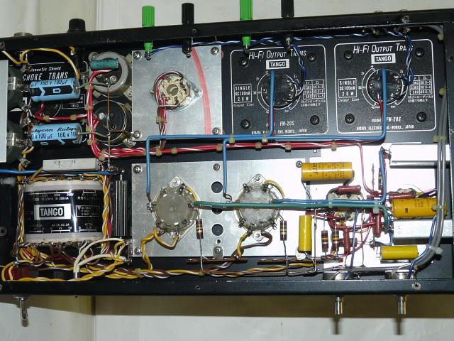 ◆自作・改造 真空管アンプ Sound explorer SL-770 TANGO タンゴ《ジャンク扱い》_画像3