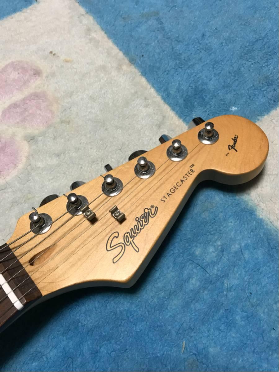 Squier STAGECASTER BY Fender 美品☆_画像3
