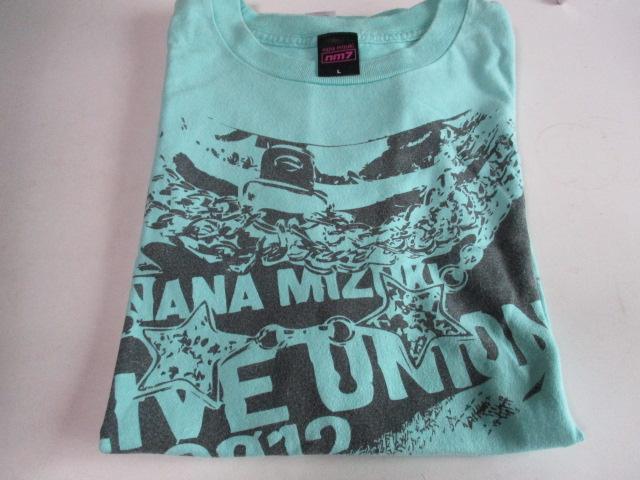 水樹奈々 Tシャツ LIVE JOURNEY 2012