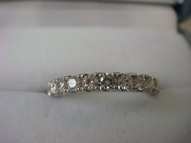 ◎綺麗なダイヤ フルエタニティーリング 1,16カラット プラチナ製◎_画像1