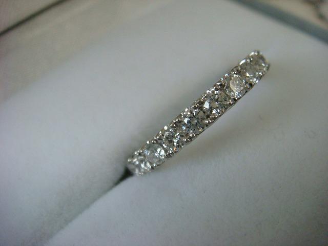 ◎綺麗なダイヤ フルエタニティーリング 1,16カラット プラチナ製◎_画像2
