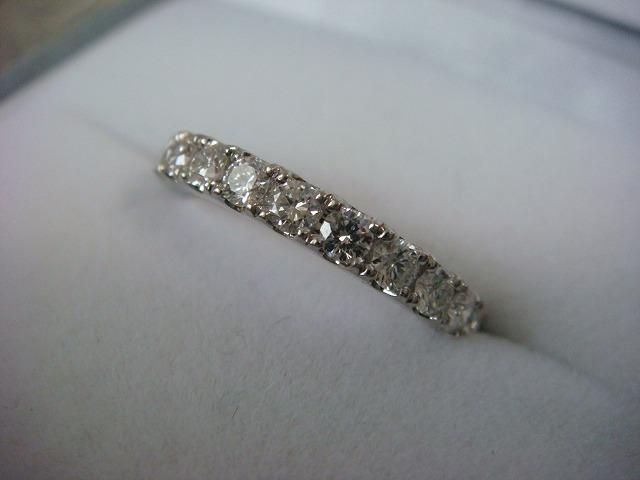 ◎綺麗なダイヤ フルエタニティーリング 1,16カラット プラチナ製◎_画像3