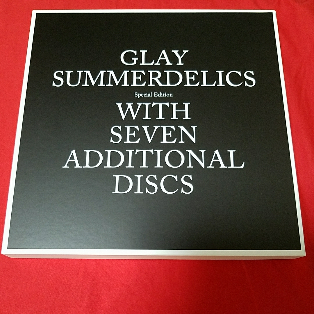※単品 GLAY SUMMERDELICS Special Edition [Disc4 / Blu-ray] のみ