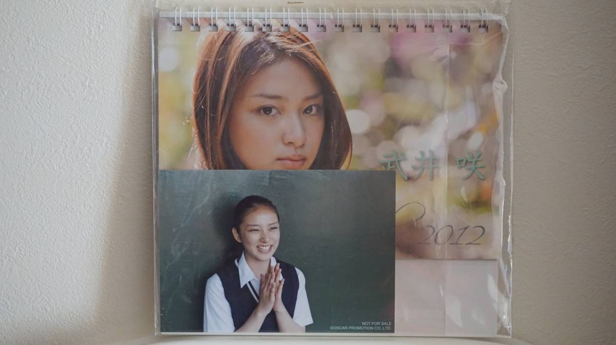 武井咲カレンダー2012年(未開封・フォトカード付き) グッズの画像