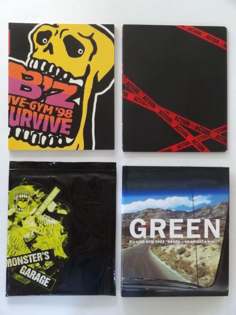 【パンフレット】B'z ツアーパンフレット 4冊セット