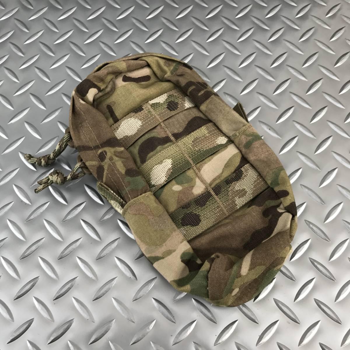 米軍実物 ATS製 MULTICAM SmallUpright GP メディックポーチ マルチカム/未使用 eagle tyr lbt biueforce