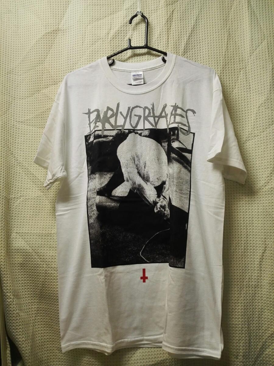 09 バンドTシャツ アーリーグレイヴス 米スラッシュ/ハードコア 白 EARLY GRAVES
