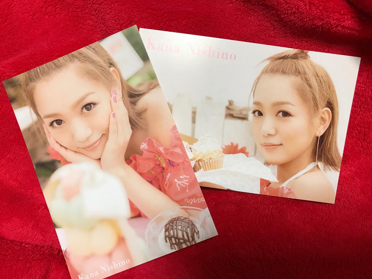 西野カナ [LOVE it]大阪会場限定予約特典ポストカード2枚セット新品!!