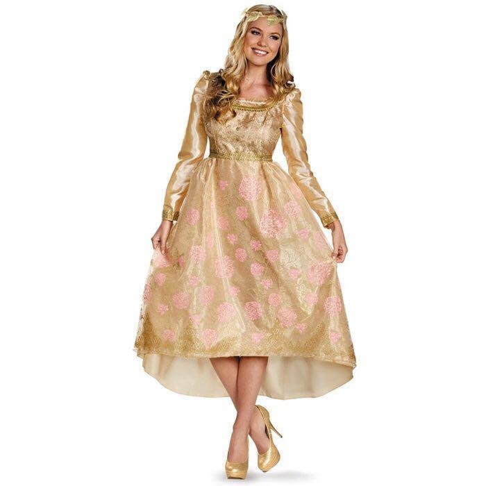 オーロラ姫 マレフィセント ドレス 衣装 仮装 ハロウィン ディズニー 正規品 ディズニーグッズの画像