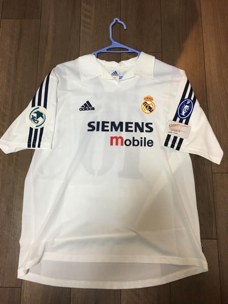 支給品 UEFAスーパーカップ ルイスフィーゴ 支給品 レアルマドリード マドリッド