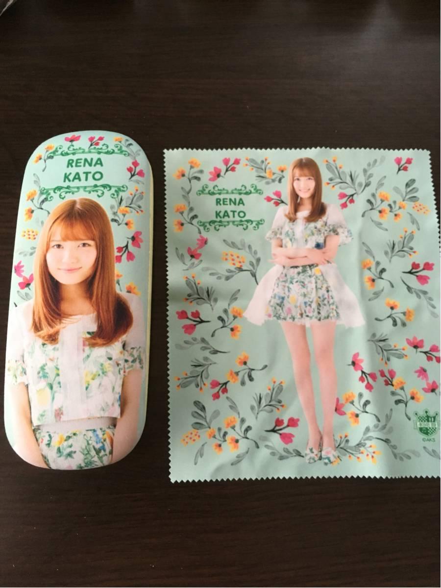 AKB48 加藤玲奈 メガネケース ライブ・総選挙グッズの画像