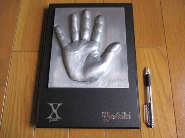 即決あり!早い者勝ち! YOSHIKI 手形 X-JAPAN