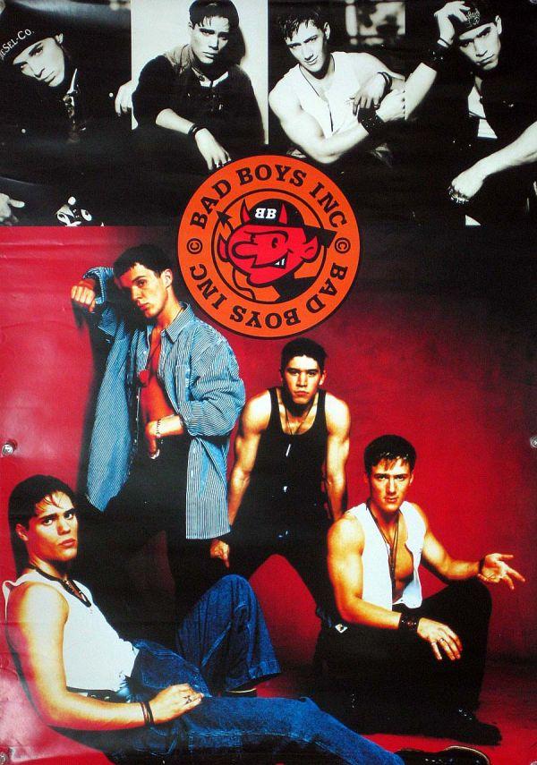 BAD BOYS INC バッド・ボーイズ・インク B2ポスター (L04006)