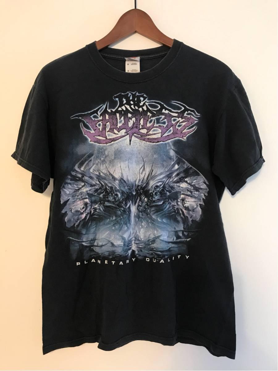 THE FACELESS 古着 Tシャツ Mサイズ デスメタル デスコア ジェント death metal deathcore DJENT プログレッシブ バンド born of osiris