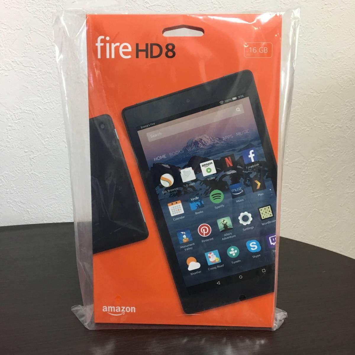 ★☆新品未開封◆ Kindle Fire HD 8 タブレット (Newモデル) 16GB ブラック キンドル☆★