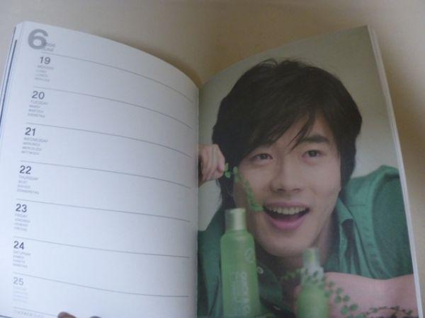 クォンサンウ 韓国 KwonSangWoo 韓国俳優 ノート スケジュール帳 文具 メモ 写真 ⑥