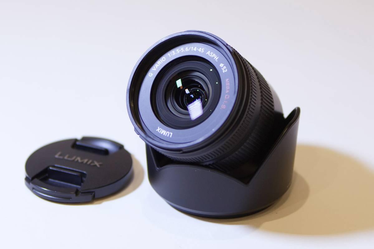【送料無料】Panasonic パナソニック 標準ズームレンズ マイクロフォーサーズ用 ルミックス G VARIO 14-45mm/F3.5-5.6 ASPH
