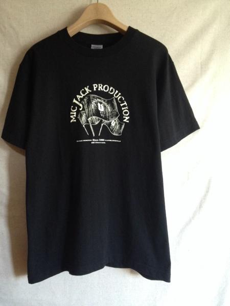 【MIC JACK PRODUCTION】Tシャツ M (検:B.I.G JOE/BLUE HERB)