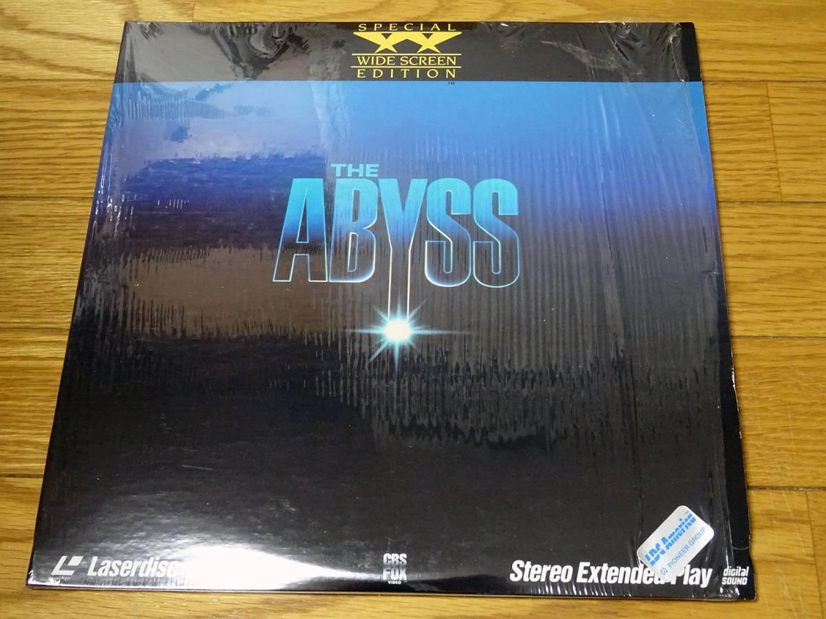 ★中古美品■映画「アビス」The Abyss 米国輸入盤レーザーディスク★_画像1