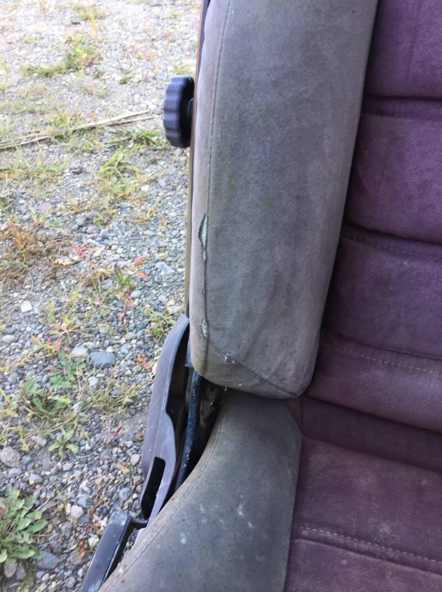 旧車 当時物 GZ10 MZ11 MZ12 スポーツシート ソアラ 10ソアラ 5MG 2.8GT 6MG 3.0GT LIMITED 運転席 助手席 リアシート 希少 街道レーサー_画像3