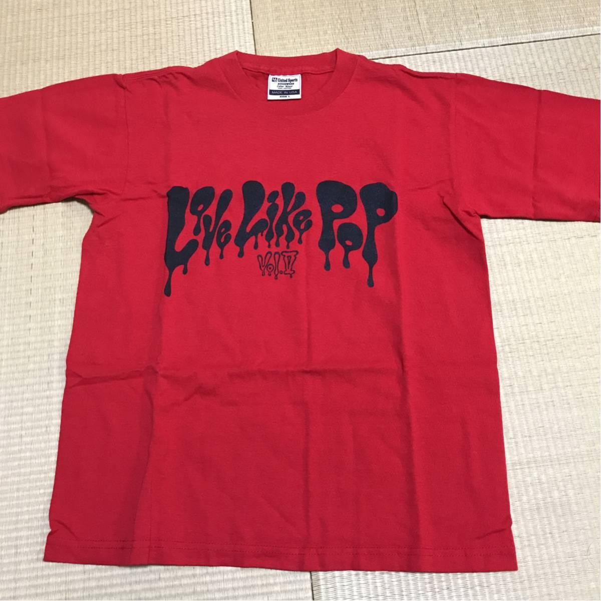 aiko Tシャツ LoveLikePOP 赤 kidsLサイズ