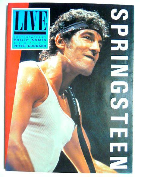 ブルース・スプリングスティーン写真集~SPRINGSTEEN:LIVE~'85ツアー写真集BORN IN THE U.S.A.TOUR'84-'85 ロックン・ロール