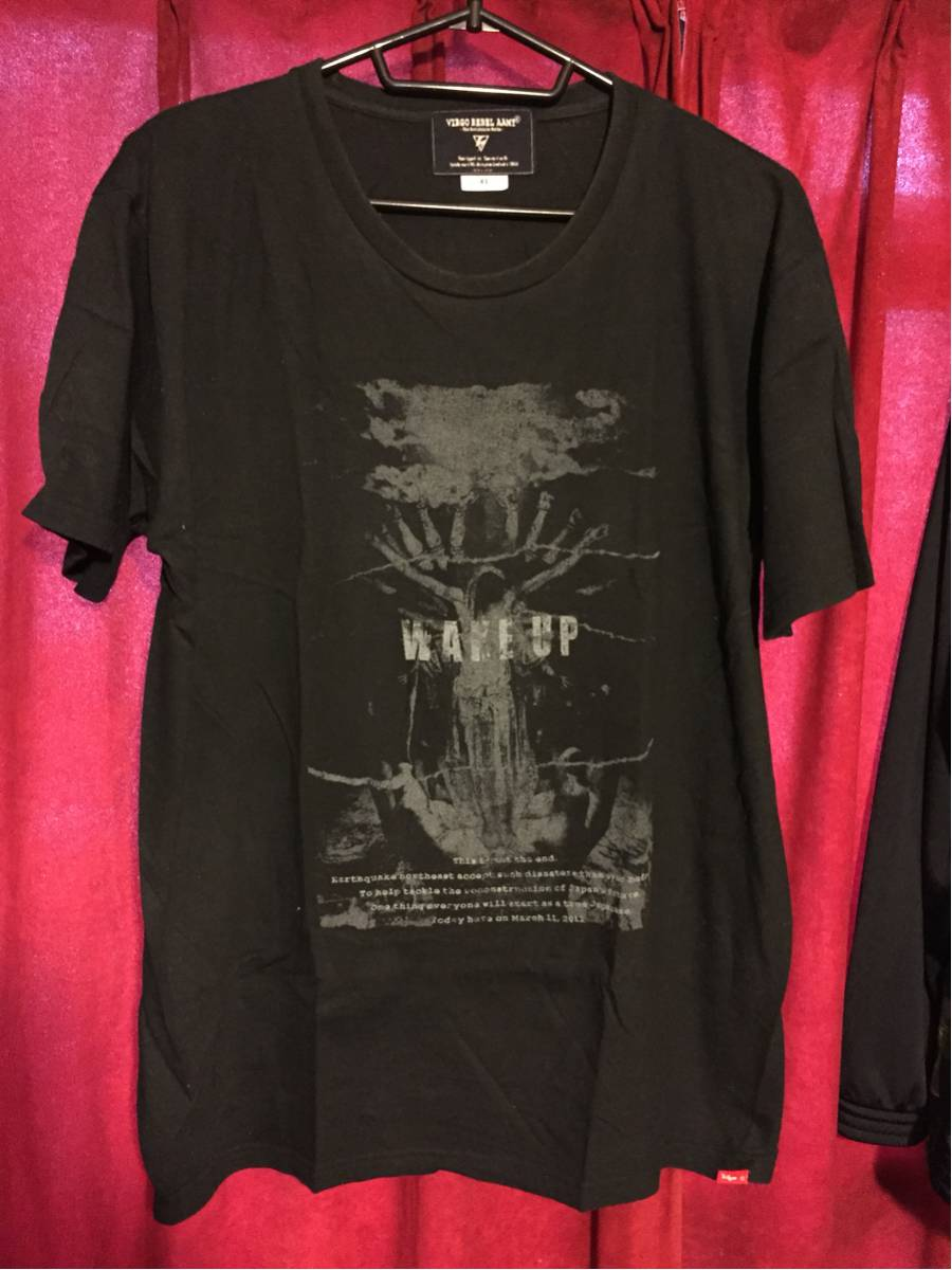 BRAHMAN VIRGO コラボ Tシャツ 黒 XL ブラフマン ライブグッズの画像