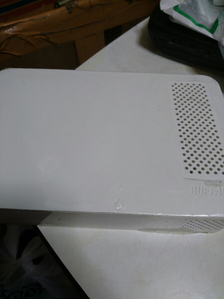 BUFFALO 外付けHDD 1TB HD-LC1.0U3-WH 本体のみ 送料無料
