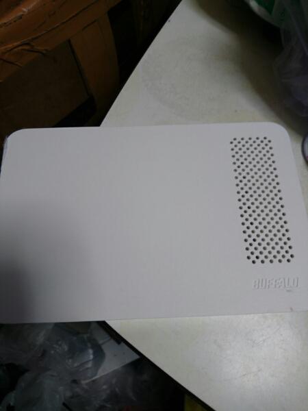 BUFFALO 外付けHDD 3TB HD-LC3.0U3-WH 本体のみ 送料無料