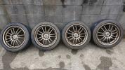 レイズ ボルクレーシング RE30 / ダンロップ Z1☆ タイヤセット 17インチ