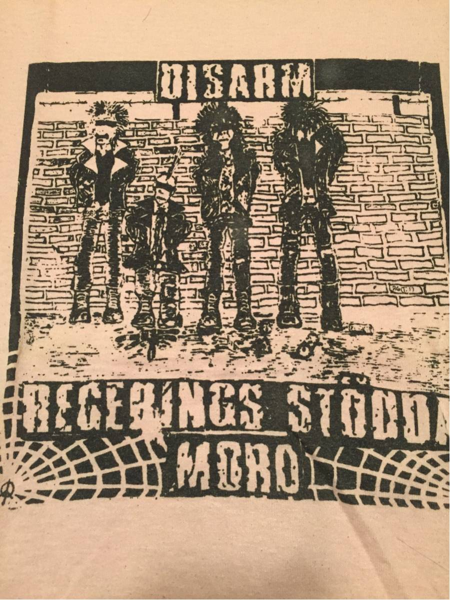 DISARM Tシャツ swedish hardcore punk anticimex astakask framtid skizophrenia