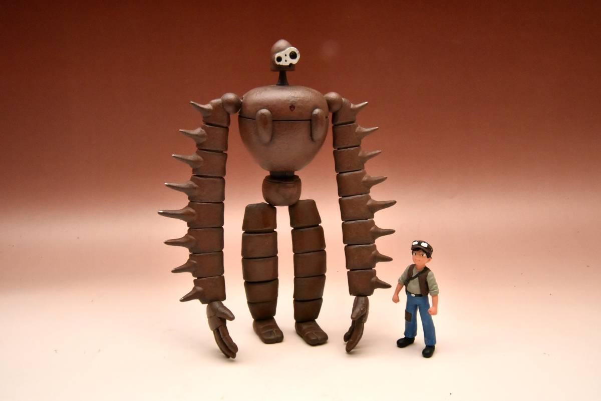 ファインモールド 天空のラピュタ ロボット兵 完成品 グッズの画像