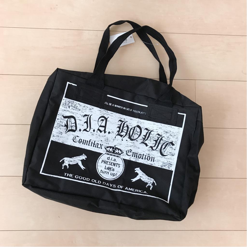 【新品】d.i.a 2016 福袋 バッグ 鞄 ブラック ._画像2