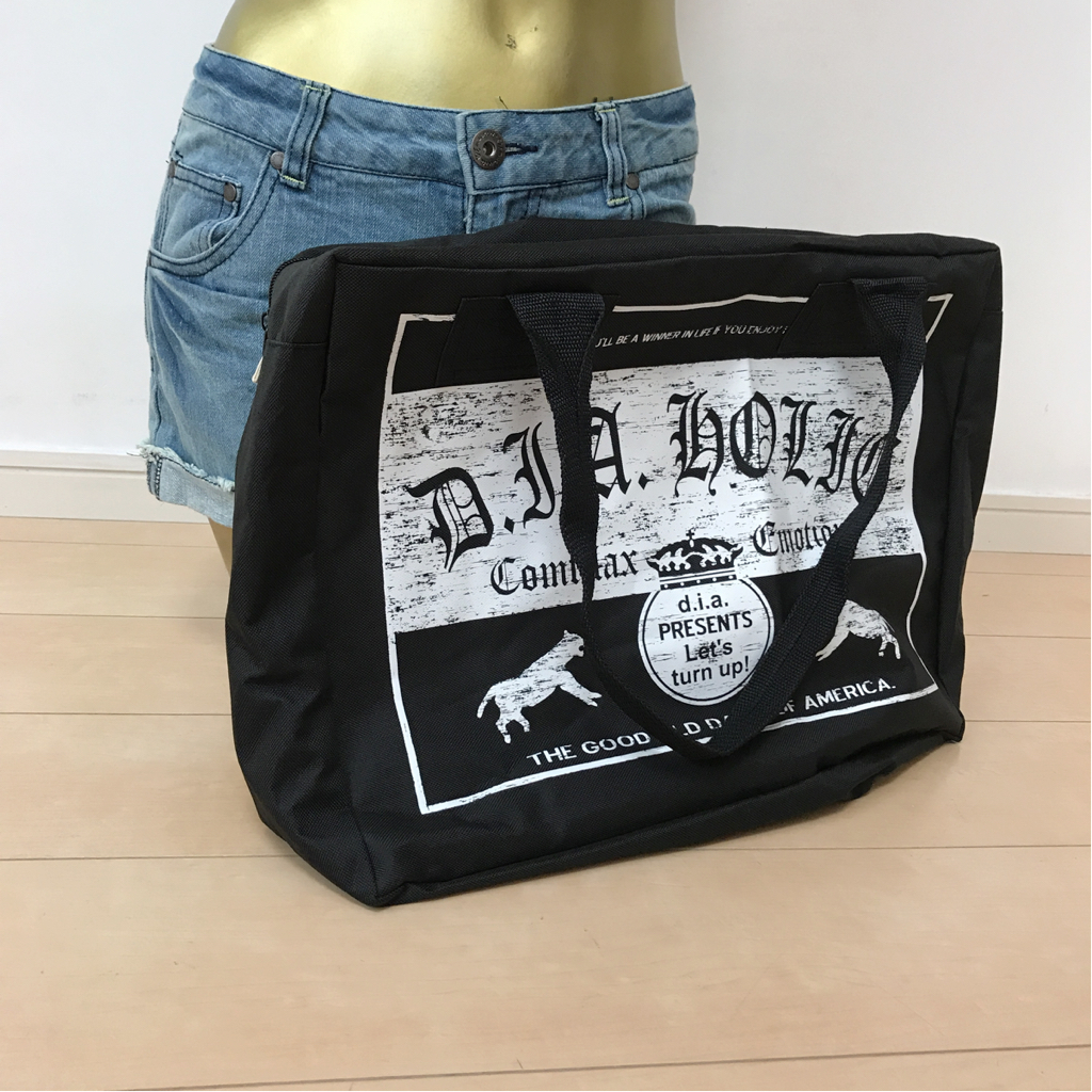 【新品】d.i.a 2016 福袋 バッグ 鞄 ブラック...._画像1
