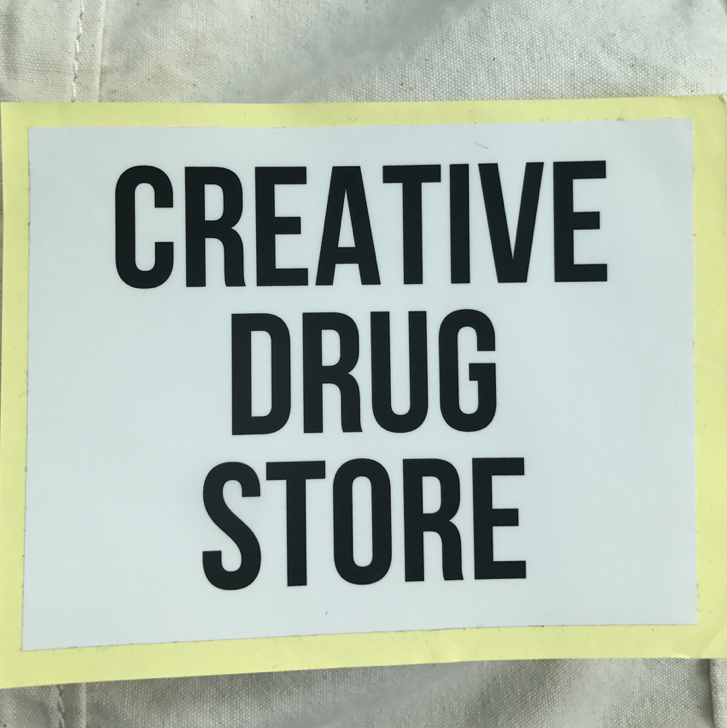 CREATIVE DRUG STORE ステッカー 会場限定 THE OTOGIBANASHI'S O'S BOYS SUMMIT PUNPEE きゃりー 菅田将暉 クリエイティブドラッグストア