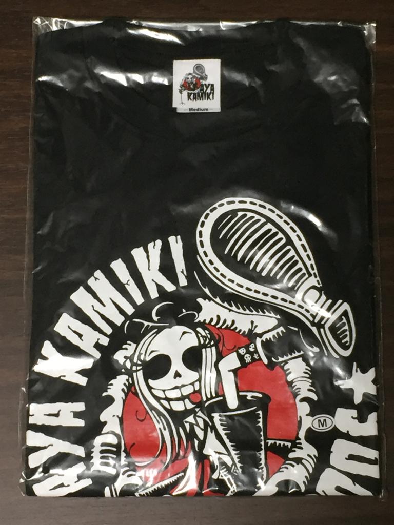 新品未開封 上木彩矢 AYA KAMIKI LIVE 2006 Tシャツ (M)