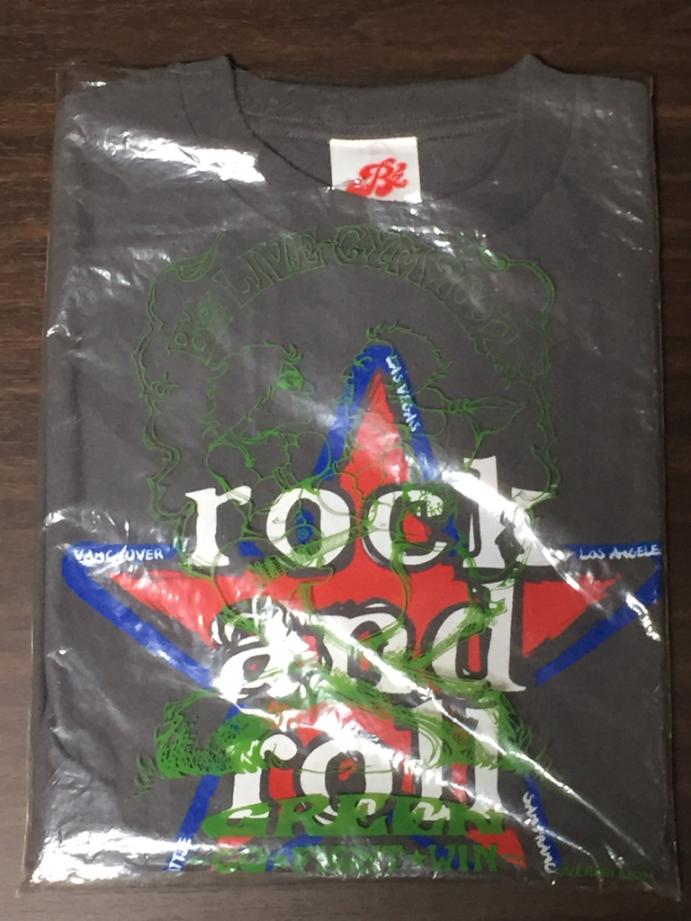 B'z LIVE-GYM BANZAI 2003 IN NORTH AMERICA rock and roll Tシャツ
