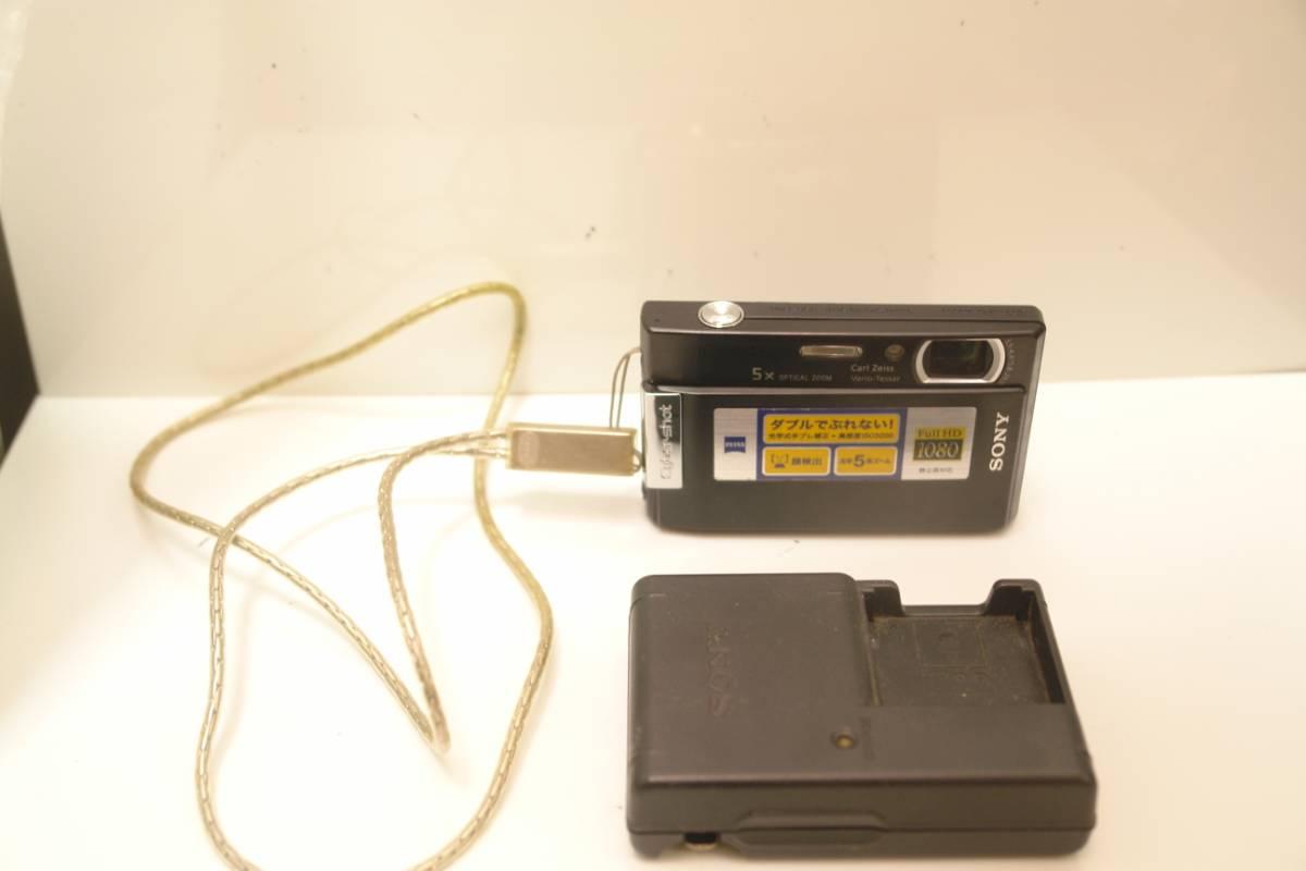 送料無料 SONY DSC-T100+マリンパックMPK-THE 即決ならVF-MPTA 中古
