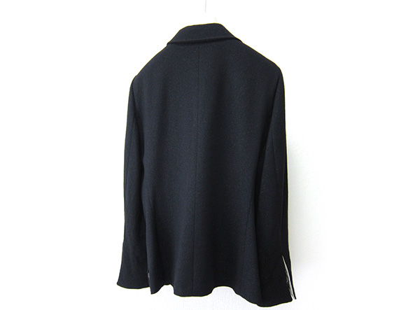 高級 LEONARD レオナール シルク100%裏地 エレガント テーラードジャケット 黒 ブラック 44サイズ_画像2