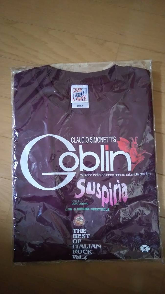 goblin The Best Of Italian Rock vol.4 Tシャツ ダリオアルジェント ゴブリン サスペリア