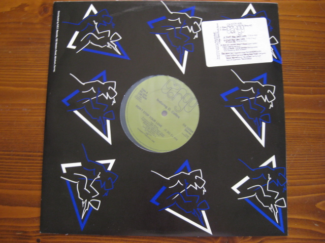 MIKE CARR/CARGO♪Don't Stop Your Love◇Robert Ahwai/Dave Collins◇Soul/Jazz/Funk◇'86年英orig盤12inch!_画像1