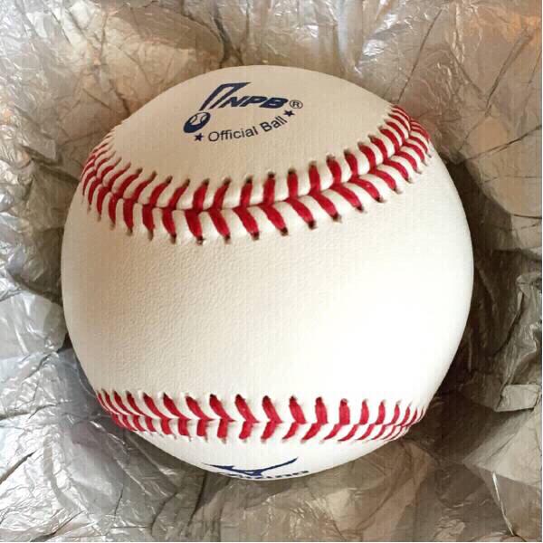 NPB公式球 新品未開封