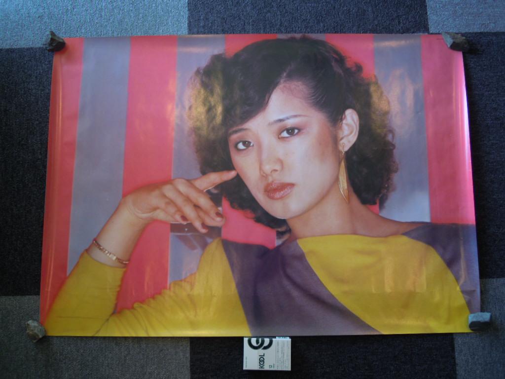 当時物・山口百恵ちゃんポスター・2 グッズの画像